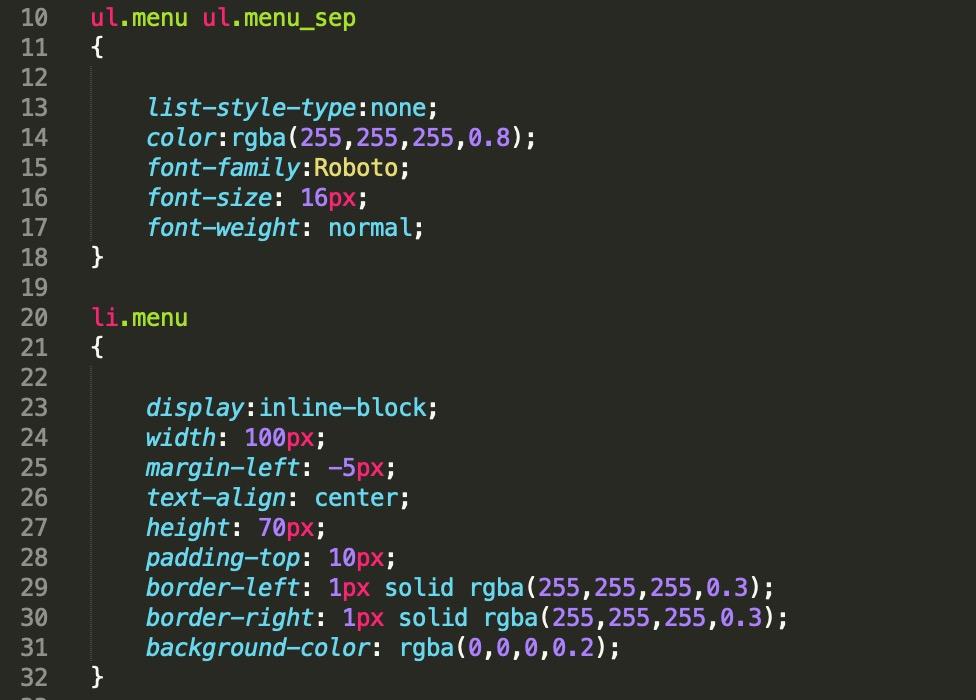 css-code-menu-design-jeedom