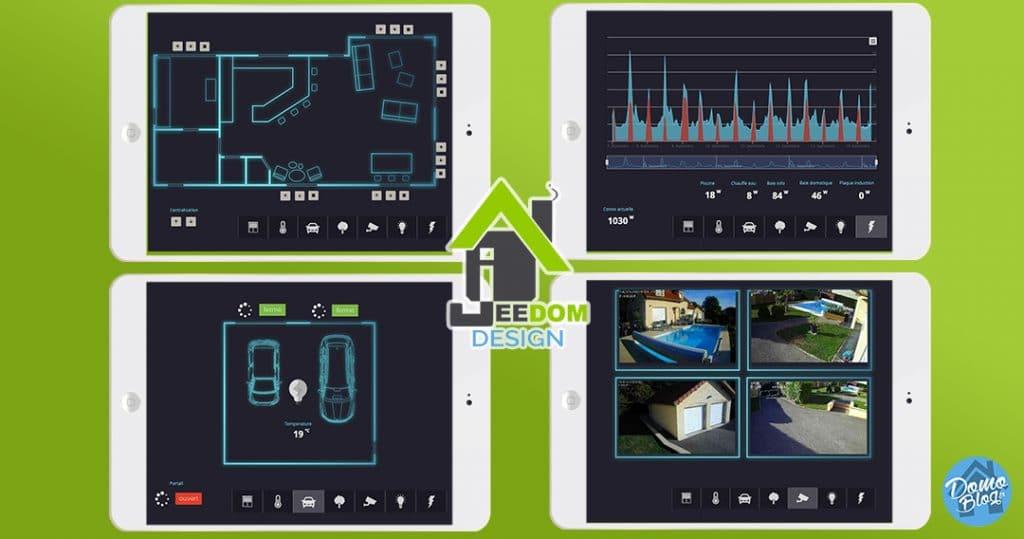 Design Jeedom : Comment mettre en place une interface tablette tactile belle et fonctionnelle