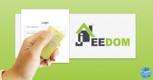 Piloter Jeedom avec les télécommandes de portail de toutes marques