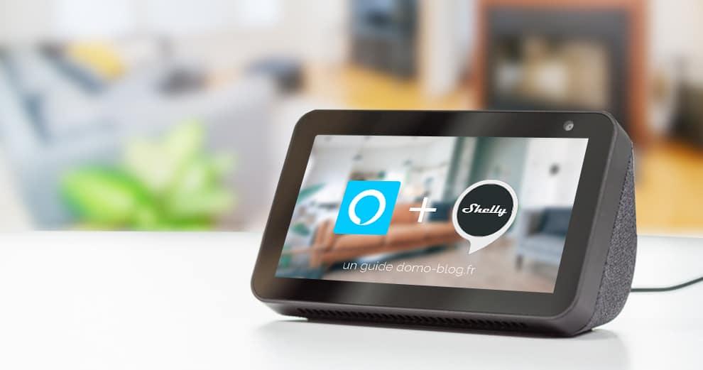 Comment piloter les modules volets roulants Shelly avec Amazon Echo et Alexa