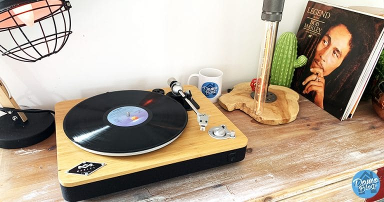 Test de la platine vinyle Bluetooth vintage House of Marley Stir It Up