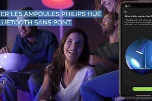 Comment piloter les ampoules Philips Hue en Bluetooth sans Pont de connexion