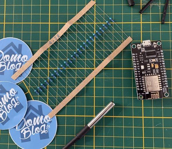 Fabriquer une sonde de température connectée wifi avec nodemcu et MQTT et la lire dans Jeedom