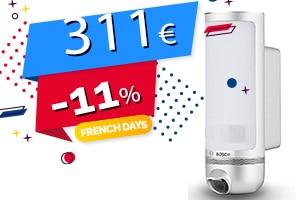 #FRENCHDAYS : La Caméra Extérieure Connectée Wifi Pilotable par Smartphone en #PROMO pour seulement 311€ (-11%)