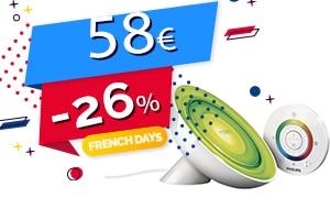 #FRENCHDAYS : La Lampe d'Ambiance Philips en #PROMO pour seulement 58€ (-26%)