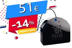 #FRENCHDAYS : Le Micromodule Relai Z-Wave en #PROMO pour seulement 51€ (-14%)