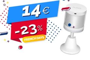 #FRENCHDAYS : Le détecteur de mouvement Aqara Zigbee en #PROMO pour seulement 14€ (-23%)