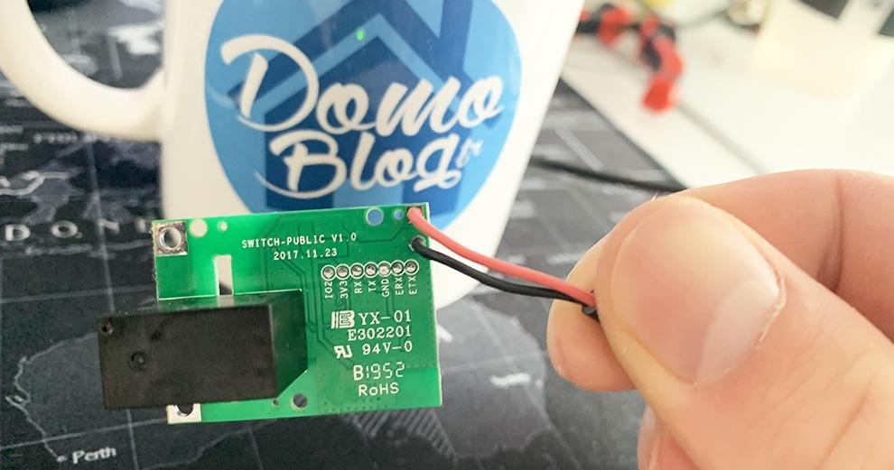 Sonoff relais 5V connecté, le test