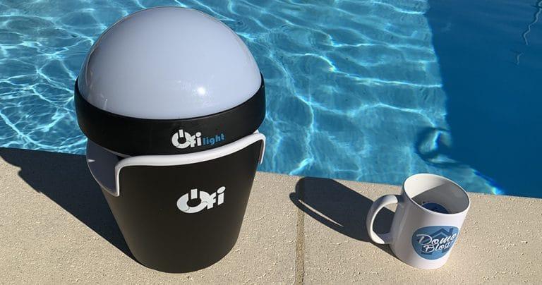 Test de Ofi Light : Analyseur connecté lumineux pour la piscine