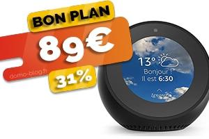 L'assistant Amazon Echo Spot en #PROMO pour seulement 89€ (-31%)