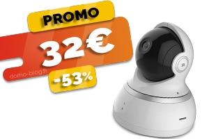 La Caméra IP Audio Bidirectionnelle en #PROMO pour seulement 32€ (-53%)