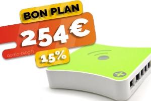 La box domotique Eedomus actuellement en #PROMO pour seulement 254€ (-15%)