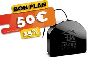 Tous les micro-modules z-wave Fibaro actuellement en #PROMO pour seulement 50€ (-15%)