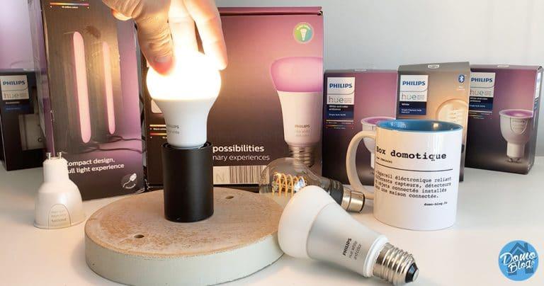 Comment réinitialiser une ampoule Philips Hue ?