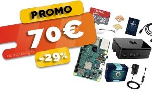 Le Kit Complet Raspberry PI3 32GO en #PROMO pour seulement 70€ (-29%)