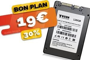 Le SSD 120Go en #PROMO pour seulement 19€ (-30%)