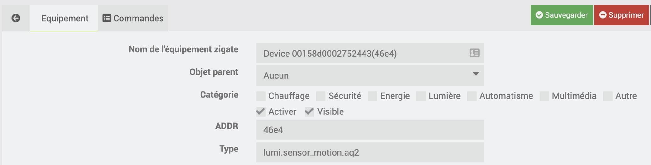 supprimer-device-aqara-jeedom