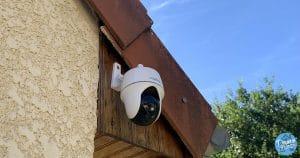 Test de la Reolink Argus PT 1080p, une caméra IP HD motorisée, totalement sans fil et autonome