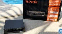 test-tenda-switch-poe-ethernet