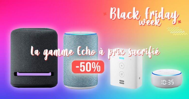 Black Friday week: Les prix des assistants Connectés Amazon Echo en chute libre 🔥