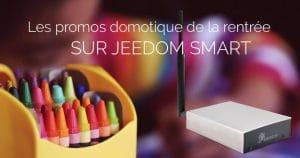 La box Jeedom Smart en promotion pour le weekend