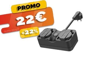 La Multiprise Connectée Extérieure Compatible IFTTT, Domotique et Assistants Vocaux en #PROMO pour seulement 22€ (-22%)