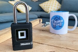 test-cadenas-master-lock-biometrique-connecte