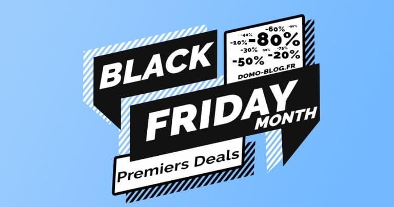 🚀 Black Friday Month : un mois de promotions domotiques avant le jour J