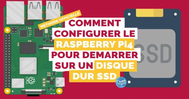 Comment configurer le boot USB sur le Raspberry Pi 4: Méthode officielle.