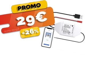 L'Ouvre-Porte de Garage Connecté en #PROMO pour seulement 29€ (-26%)