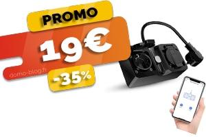 La Double Prise Wifi Extérieure Connectée en #PROMO pour seulement 19€ (-35%)