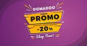 La domotique en promotion pendant 2 jours chez Domadoo