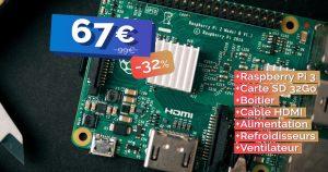 Le kit complet Raspberry Pi 3 b+ actuellement à seulement 67€ 🔥