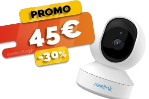 La Caméra IP Intérieure avec Détection de Mouvement en #PROMO pour seulement 45€ (-30%)