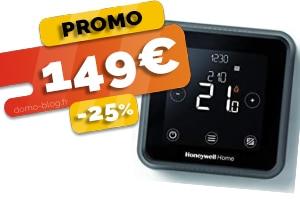 Le Thermostat Connecté Intelligent Compatible IFTTT, Domotique et Assistants Vocaux en #PROMO pour seulement 149€ (-25%)