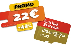 La carte Micro SDXC 128Go en #PROMO pour seulement 22€ (-42%)