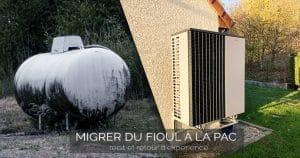 Comment remplacer un chauffage fioul par une pompe à chaleur air/eau économique et connectée