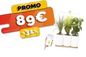 Le Potager d'Intérieur Connecté en #PROMO pour seulement 89€ (-31%)