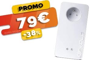 La Prise CPL Double Ports Ethernet en #PROMO pour seulement 79€ (-38%)