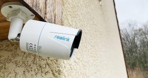 Test de la caméra IP d'extérieur POE Reolink RLC 510A à détection de silhouettes et véhicules