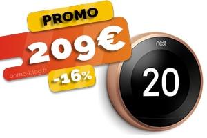 Le Thermostat Connecté Intelligent en #PROMO pour seulement 209€ (-16%)