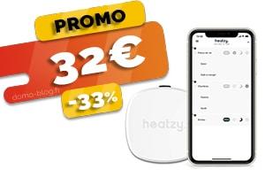 Le Thermostat Connecté Intelligent en #PROMO pour seulement 32€ (-33%)