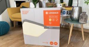 Découverte du plafonnier Ledvance Orbis Square: LED, design et éclairage automatique