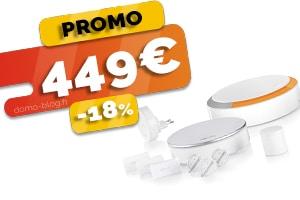 L'Alarme Maison Sans Fil Connectée Somfy en #PROMO pour seulement 449€ (-18%)