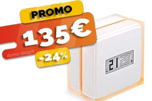Le thermostat connecté Netatmo en #PROMO pour seulement 135€ (-24%)