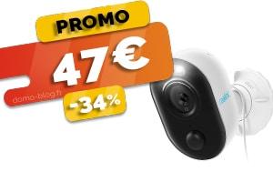 La Caméra Extérieure avec Projecteur Led en #PROMO à seulement 47€ (-34%)