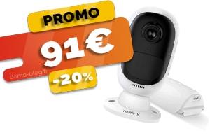 La Caméra IP Solaire Sans Fil sur Batterie Rechargeable Totalement Autonome en #PROMO à seulement 91€ (-20%)