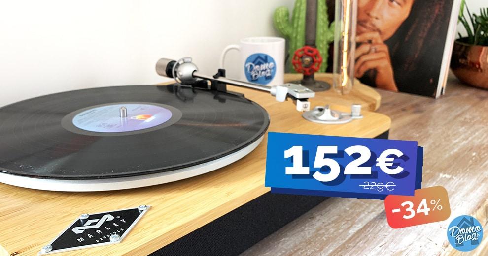 platine-vinyle-house-of-marley-promo