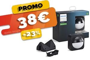 Le détecteur de mouvement exterieur Philips Hue en #PROMO à seulement 38€ (-23%)