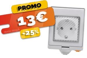 La prise connectée d'exterieur, wifi et compatible jeedom en #PROMO pour seulement 13€ (-25%)